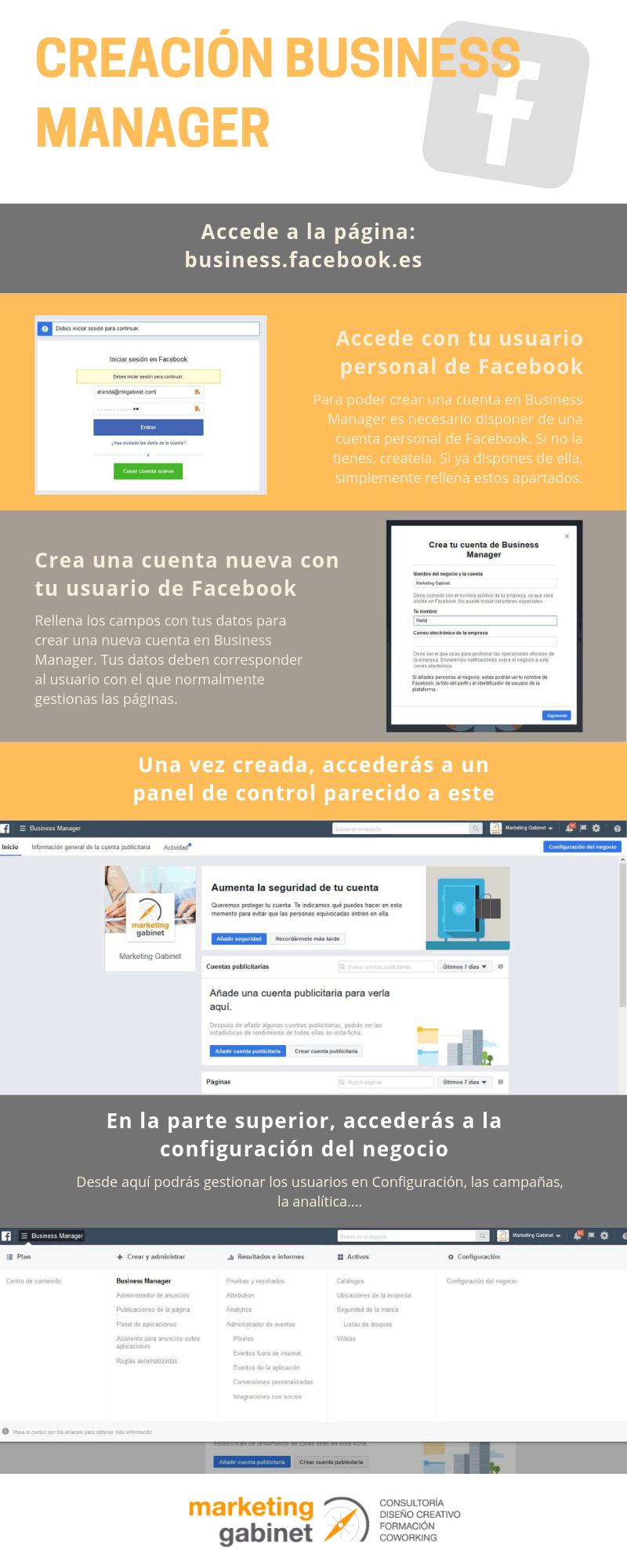 Cómo crear una cuenta de Facebook Business Manager