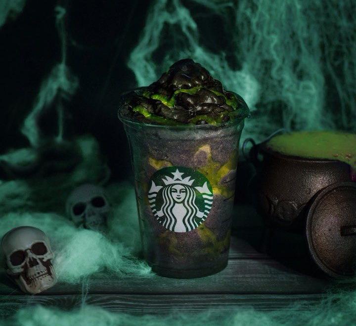 El Phanton Frappuccino de Starbucks