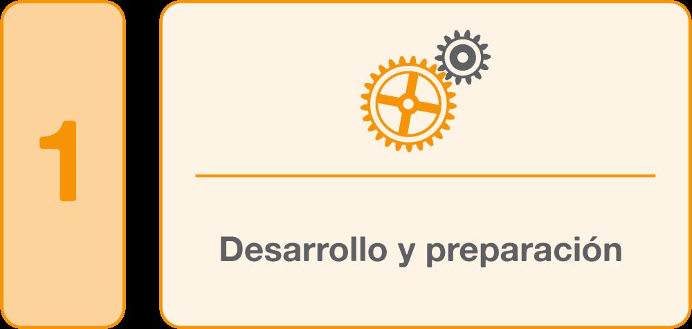 1.Desarrollo y preparación