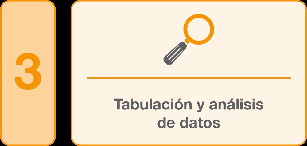 3.Tabulación y análisis de datos
