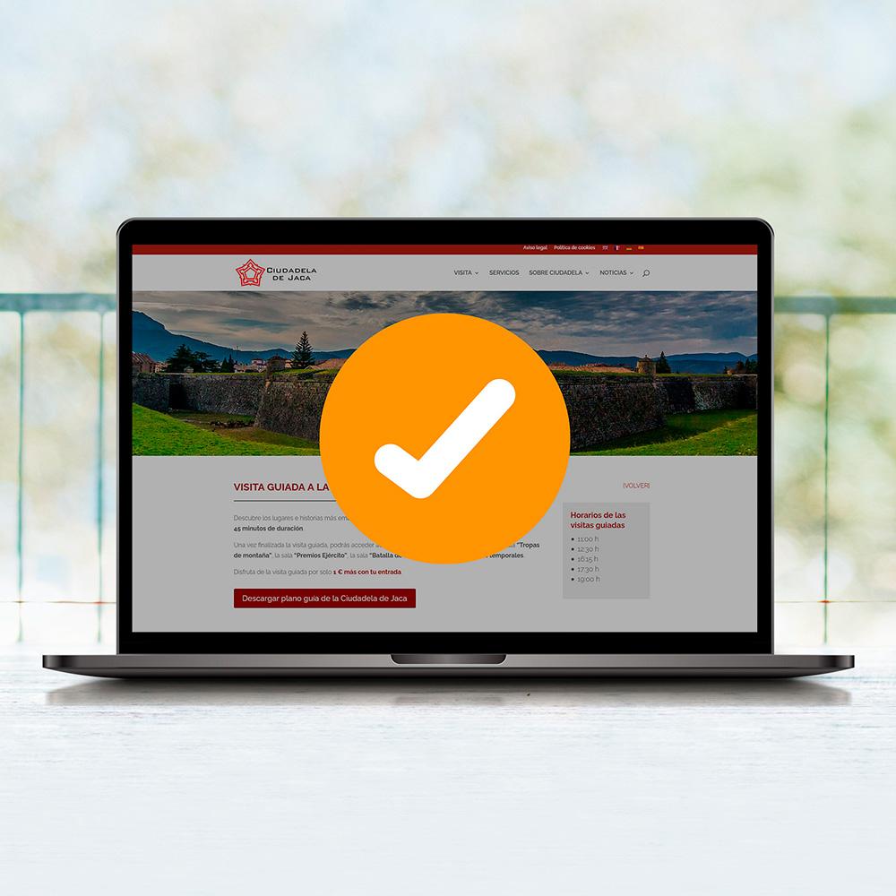 Mantenimiento técnico y actualización de contenidos web
