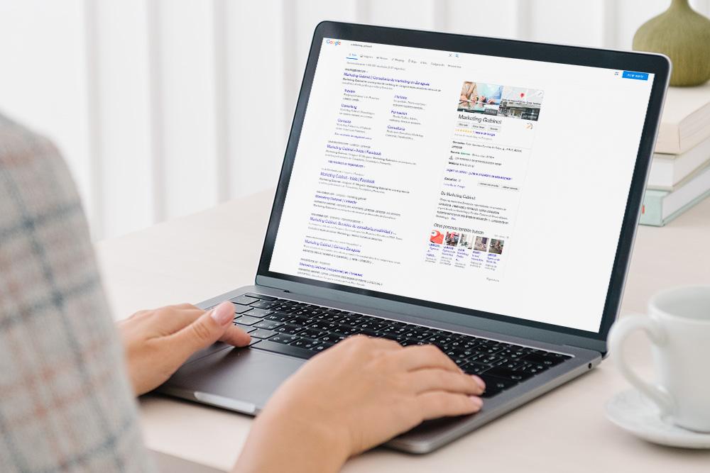 Posicionamiento de entornos web en buscadores